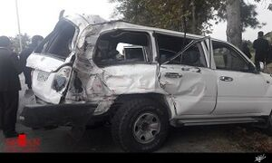 مقصر تصادف رئیس تامین اجتماعی مشخص شد