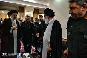 عکس/ مراسم ترحیم سردار قدرت الله منصوری