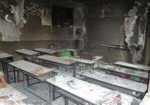 آتشسوزی مدرسه زاهدان در سه سکانس