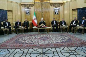 فیلم/ صحبت های روحانی درباره حمایت اردوغان از ایران