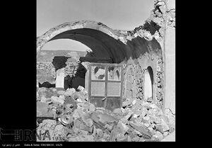 عکس/ زلزله سال 1356 کرمان با 519 تن کشته!