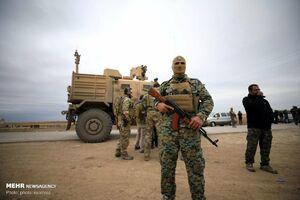 عکس/ نظامیان آمریکایی در سوریه