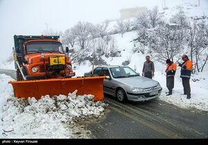 عکس/ امداد رسانی و بازگشایی جادههای کردستان