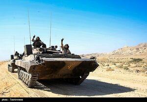 رزمایش تهاجمی پیامبر اعظم ۱۲ نیروی زمینی سپاه