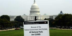 دولت آمریکا از ساعاتی دیگر تعطیل میشود