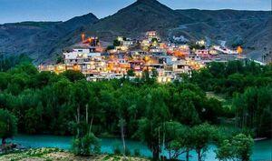 تصویری بسیار زیبا از روستای چمِ نار، چهارمحال بختیاری