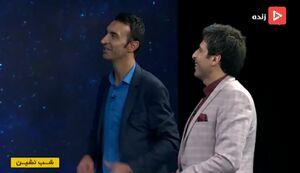 فیلم/ خوانندگی رضا عنایتی در برنامه زنده