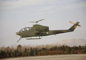حمله بالگردهای سپاه به اهداف ساحلی در رزمایش