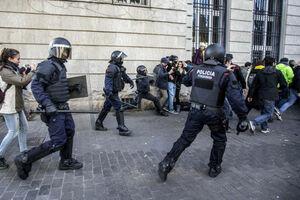 فیلم/ اعتراضات اروپا به اسپانیا رسید!