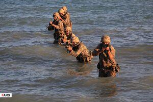 فیلم/ لحظه ورود نیروهای ویژه سپاه برای فتح جزیره