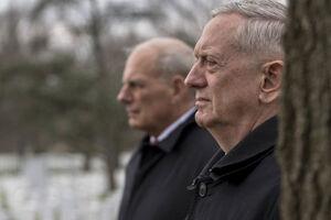 کوچ متیس: شوک بزرگ به تیم امنیتی و نظامی ترامپ+ فیلم