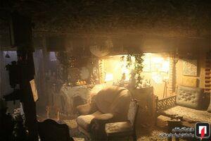 آتش سوزی سفره خانه سنتی