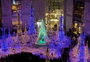 عکس/ توکیو در آستانه کریسمس