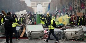 شمار قربانیان اعتراضهای فرانسه به 10 نفر رسید