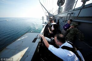عکاسی آمریکاییها از قایق های تندرو سپاه