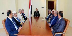 تمدید ریاست «المشاط» بر شواری عالی سیاسی یمن