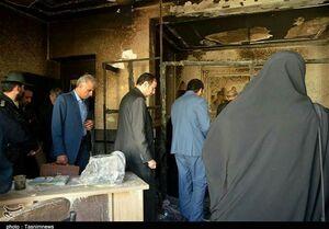 عکس/ بازدید نمایندگان مجلس از مدرسه حادثه دیده زاهدان
