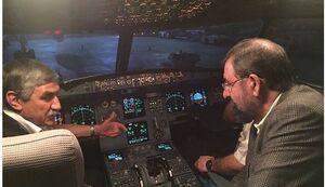 درد دل یک خلبان با محسن رضایی+عکس