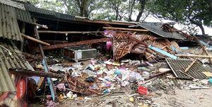 سونامی در اندونزی 62 کشته، 600 مجروح و 20 مفقود برجای گذاشت