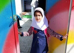 ضجههای کشتیگیری که دخترش در مدرسه پرکشید +عکس