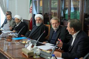 عکس/ حضور سران قوا در جلسه شورای عالی اقتصادی