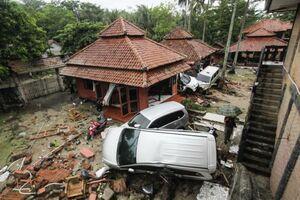 فیلم/ خسارت های سونامی در اندونزی!