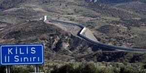 یک کاروان نظامی ترکیه راهی مرز سوریه شد