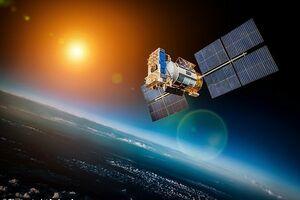 تصویر ماهواره ای از آمادگی ایران برای پرتاب فضایی