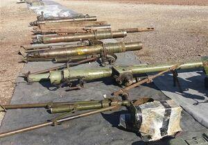 کشف سلاحهای اسرائیلی و آمریکایی در قنیطره +عکس