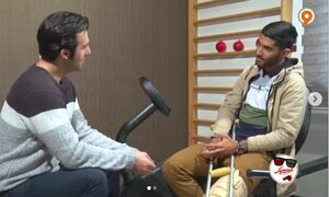 فیلم/ وقتی محمد انصاری ایستگاه فرشید اسماعیلی را میگیرد