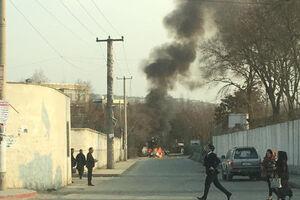فیلم/ انفجار در نزدیکی یک وزارتخانه در افغانستان!