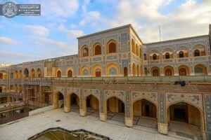 تصاویر جدید از ساخت صحن حضرت زهرا(س)