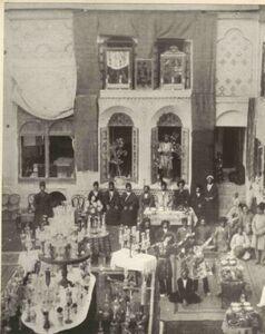 عکس/ جشن عروسی لاکچری در زمان قاجار!