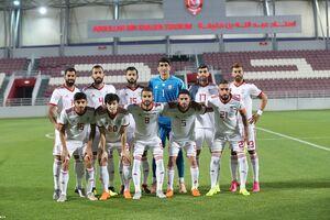 عکس/ دیدار دوستانه تیم ملی ایران و فلسطین