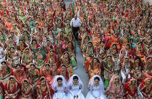 عکس/ اقدام تحسین برانگیز یک تاجر هندی