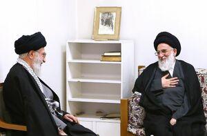 اقامه نماز بر پیکر آیتالله شاهرودی توسط رهبرانقلاب/ آغاز مراسم از ساعت 8 صبح فردا در مصلی تهران