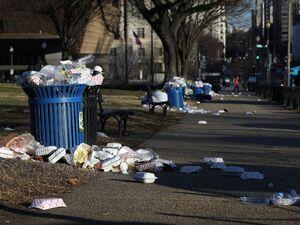 فیلم/ بوی تعفن در خیابان های آمریکا