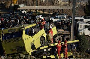 فوت یکی دیگر از مصدومان حادثه واژگونی اتوبوس دانشجویان