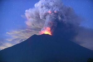 فیلم/ فعال شدن آتشفشانی بعد 130 سال!