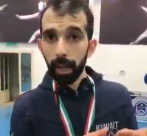 انصراف ورزشکار کویتی از مبارزه با حریف صهیونیست +فیلم