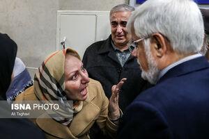 عیادت عارف از دانشجویان حادثهدیده دانشگاه آزاد در بیمارستان امام خمینی (ره)