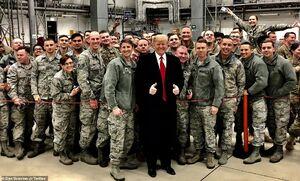 سفر ترامپ به عراق