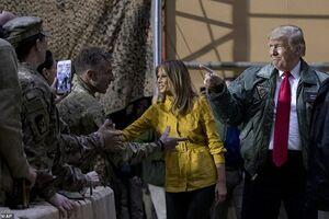 اعتراف جالب ترامپ از سفرش به عراق