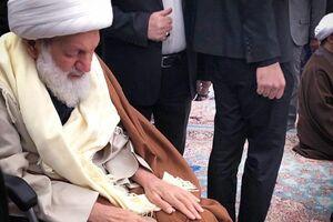 فیلم/ رهبر شیعیان بحرین در راهپیمایی روز قدس