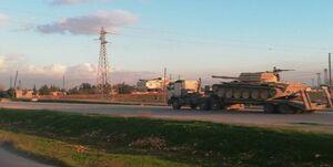 ارسال تجهیزات نظامی سنگین به منبج سوریه + عکس