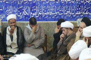 مراسم بزرگداشت آیت الله هاشمی شاهرودی در نجف اشرف+عکس