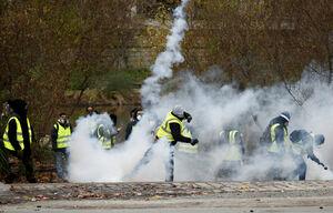 تداوم جنبش جلیقه زردها در نانت فرانسه