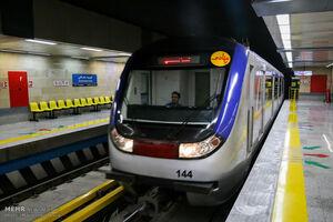 اقدام به خودکشی ناموفق سرباز در ایستگاه مترو