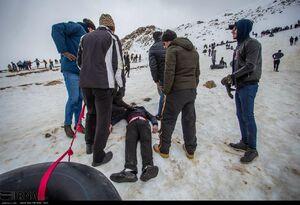عکس/ پایان پیست اسکی رفتن مستضعفین!