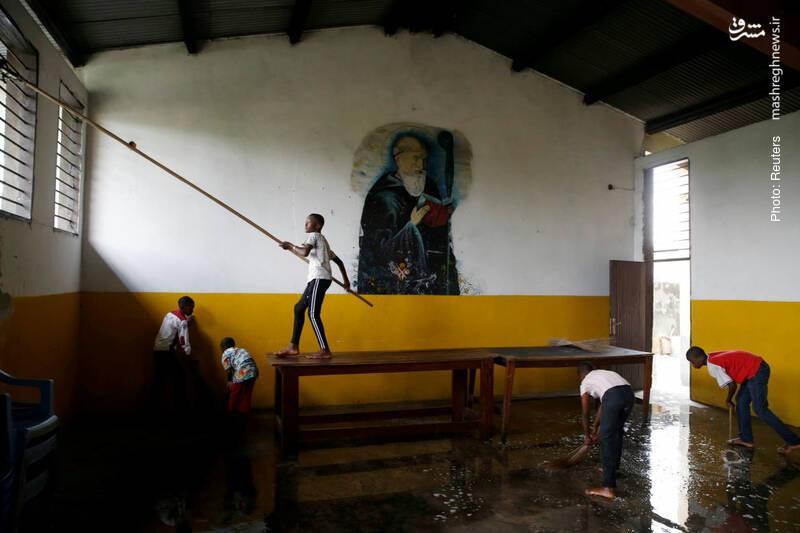 آیین شستوشوی کلیسا در جمهوری دموکراتیک کنگو